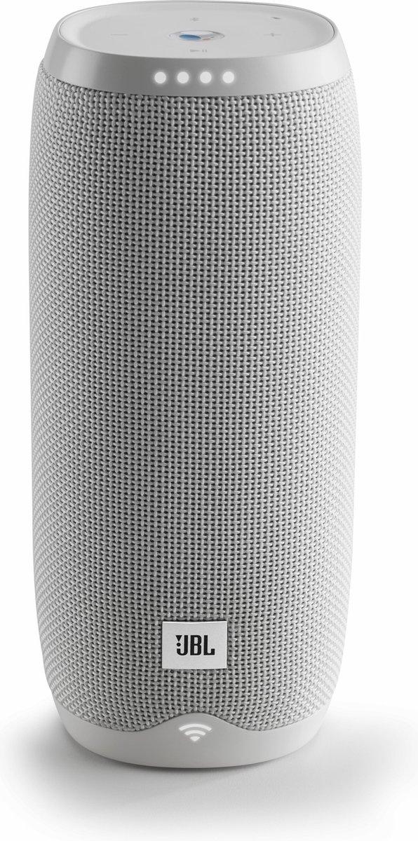 JBL Link 20 Wit - Draadloze Smart Speaker met Google Assistant