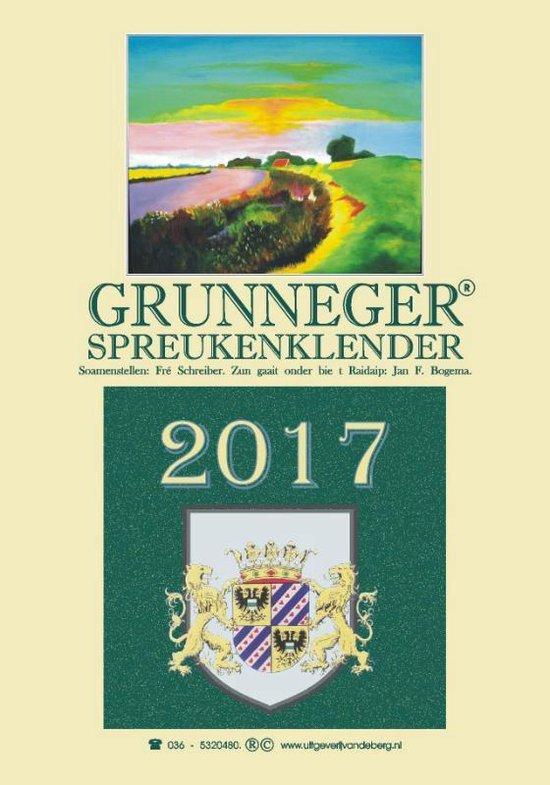 Grunneger spreukenklender 2017 - Fré Schreiber |