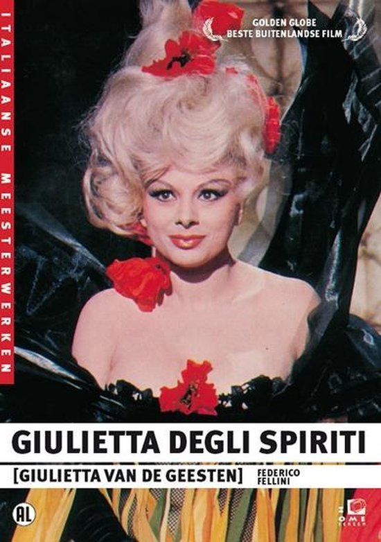 Cover van de film 'Giulietta Degi Spiriti'