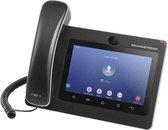 Grandstream Networks GXV3370 IP telefoon Zwart Handset met snoer LCD 16 regels Wi-Fi