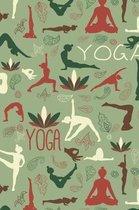 Yoga Pattern - Yoga Namaste Health Meditation Yogi 04