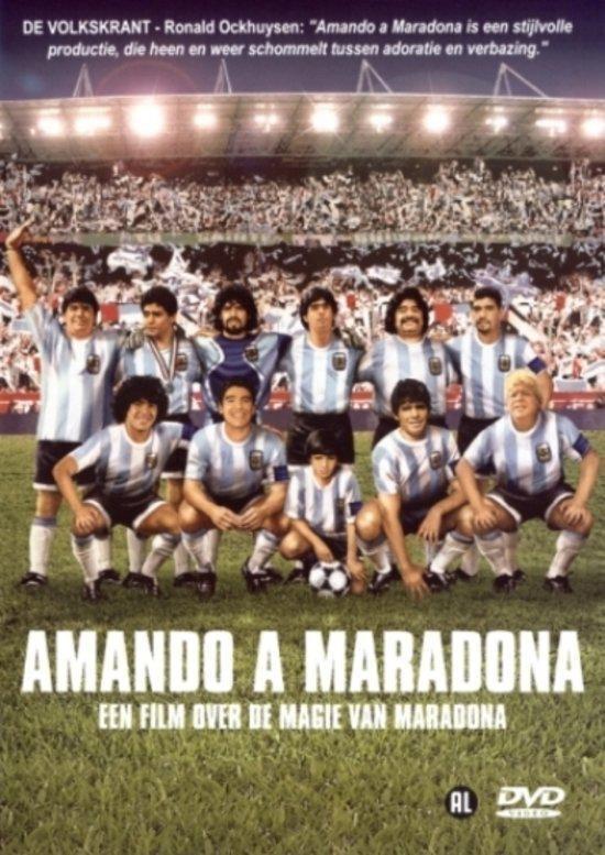 Cover van de film 'Amando A Maradona'