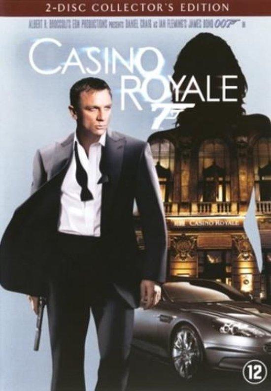 Cover van de film 'James Bond - Casino Royale'