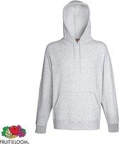 Fruit of the Loom hoodie Heren (gemêleerd grijs) Maat L