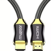 MyGear HDMI Kabel 2.0 - Ultra HD 4K High Speed (60hz) - Vergulde Connectoren - 1,5 Meter
