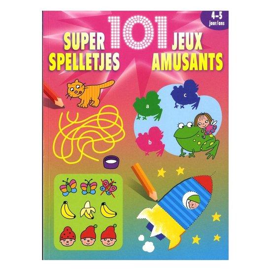 Cover van het boek '101 super spelletjes 4-5 jaar' van  Nvt