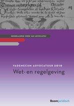 Afbeelding van Vademecum Advocatuur 2019