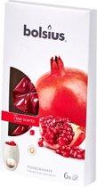 Bolsius True Scents Wax Melts - Pomegranate - 6 stuks
