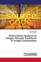 Performance Analysis of Integer Wavelet Transform in Image Compression