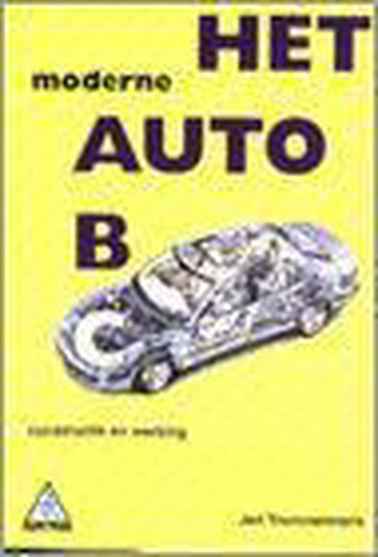 Het Moderne Auto-Abc - Jan Trommelmans |