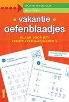Boek cover Vakantie oefenblaadjes - Klaar voor het eerste leerjaar van ZNU