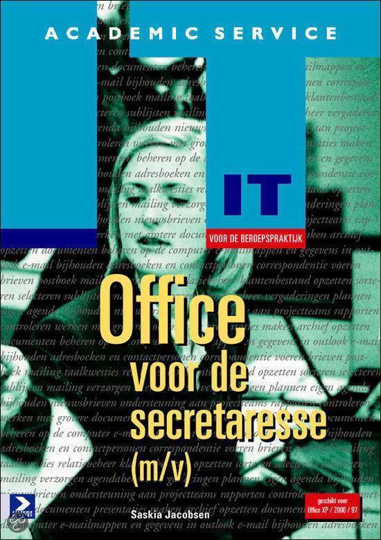 Office voor de secretaresse - Saskia Jacobsen-Mohr  