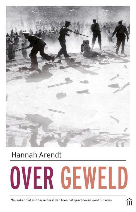 Boek cover Over geweld van Hannah Arendt (Paperback)