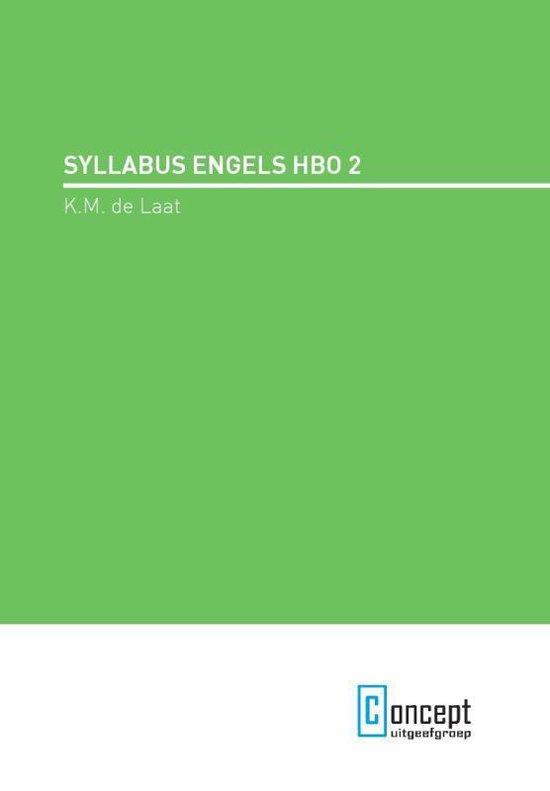 Syllabus engels hbo 2 - K.M. de Laat | Readingchampions.org.uk