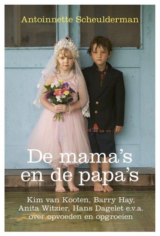 Cover van het boek 'De mama's en de papa's' van A. Scheulderman