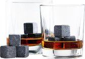 Whiskey Stones Whiskey Stenen Whisky Herbuikbare ijsblokjes - 18 stuks