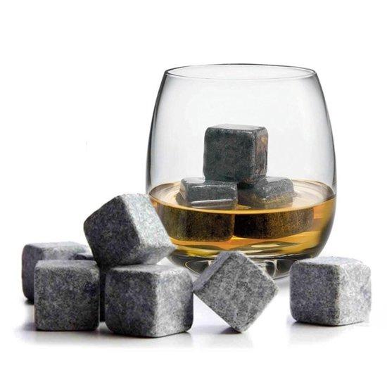Whiskey Stones Whiskey Stenen Luxe Herbuikbare Ijsblokjes - 9 stuks