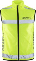 Craft craft visibility vest - Hardloopjas - Unisex - Neon - M