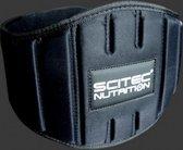 Scitec Nutrition - Gewichtshef Gordel - Rugriem - Halterriem - Gewichtheffersriem - model Fitness - Extra Breed - S