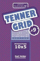 Sudoku Tenner Grid - 200 Normal Puzzles 10x5 (Volume 9)
