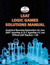 LSAT Logic Games Solutions Manual