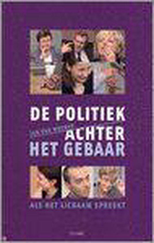 De politiek achter het gebaar - Jan Van Meenen |