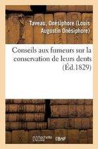 Conseils aux fumeurs sur la conservation de leurs dents. 2e edition