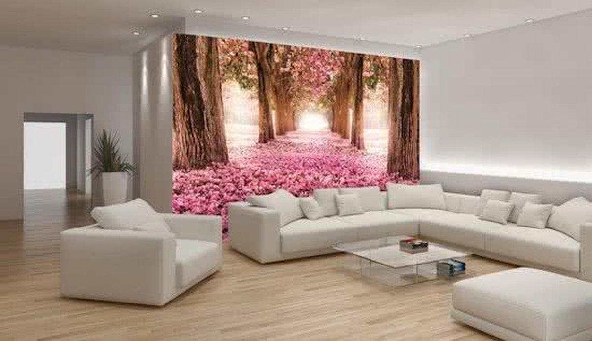 Pink Photomural, wallcovering - GroepArt