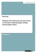 Wielands Die Abenteuer des Don Sylvio von Rosalva