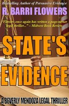 Omslag State's Evidence: A Beverly Mendoza Legal Thriller