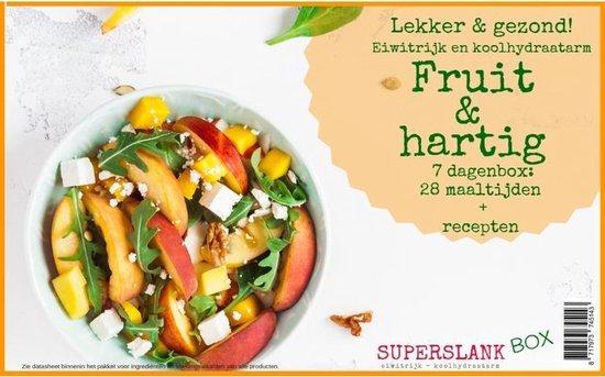 SuperslankBox 3 Fruit en Hartig -28 maaltijden