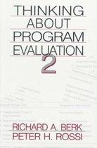 Thinking about Program Evaluation
