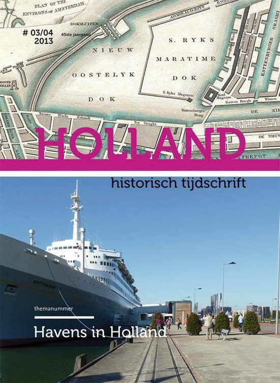 Cover van het boek 'Havens in Holland'