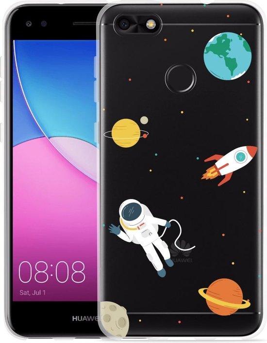 Huawei Y6 Pro 2017 Hoesje Astronaut