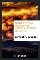 Biographical Memoir of John Lawrence LeConte