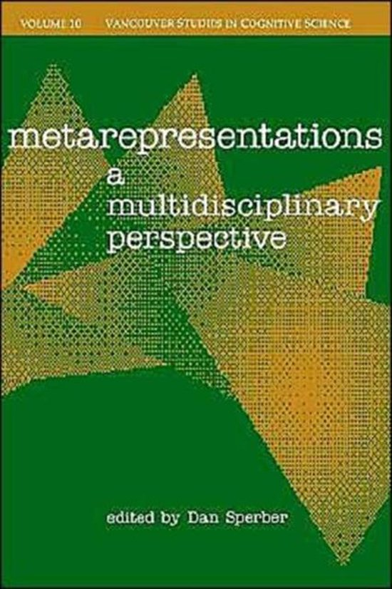 Boek cover Metarepresentations van Sperber