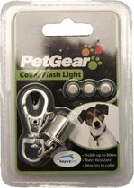 Petgear Flash Light Veiligheidsknipperlicht - 10x7x1.5 cm