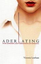 Boek cover Aderlating van Victoria Leatham