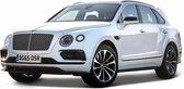 Afbeelding van Modelauto Bentley Bentayga 1:43 wit speelgoed