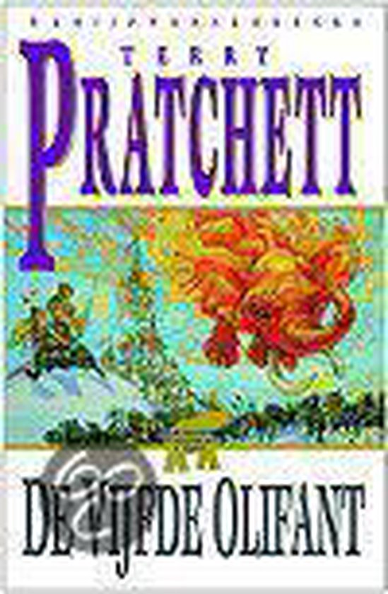Schijfwereldreeks - 24 - De vijfde olifant - Terry Pratchett |