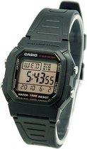 Casio Heren horloge digitaal zwart W800HG-9AV