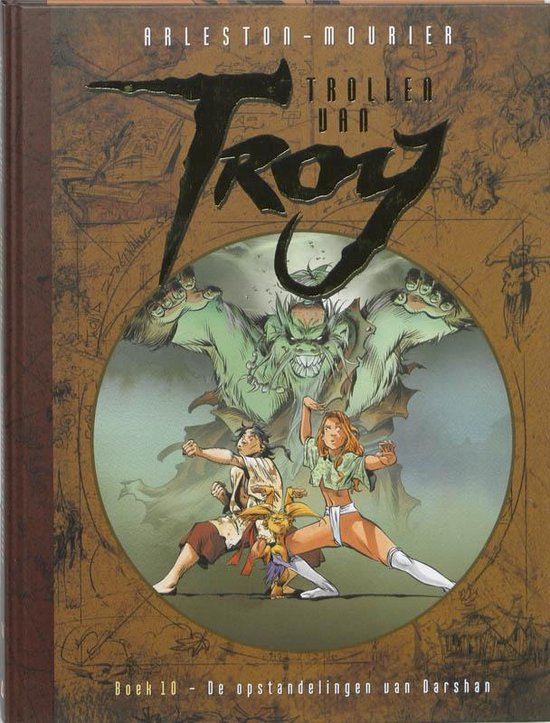 Trollen van Troy 10 - De opstandelingen van Darshan - Christophe Arleston |