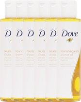 Dove Nourishing Care - 6 x 200 ml - Douche Olie
