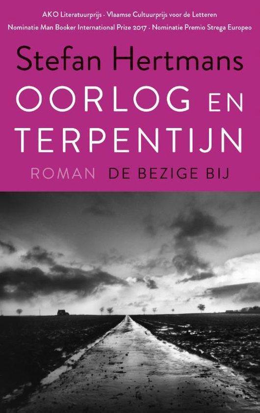 Boek cover Oorlog en terpentijn van Stefan Hertmans (Paperback)