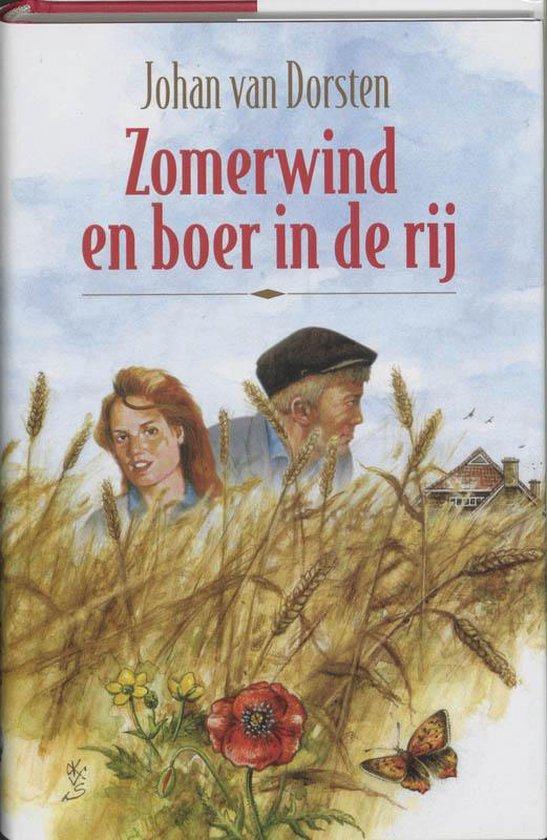 Cover van het boek 'Zomerwind en boer in de rij' van Johan van Dorsten