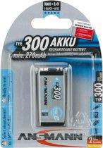 Ansmann 9V maxE Batterij - 1 stuk - 270 mAh