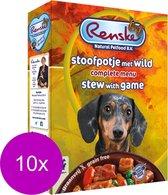 Renske Vers Vlees Graanvrij Wild - Hondenvoer - 10 x 395 gr