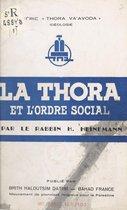 La Thora et l'ordre social