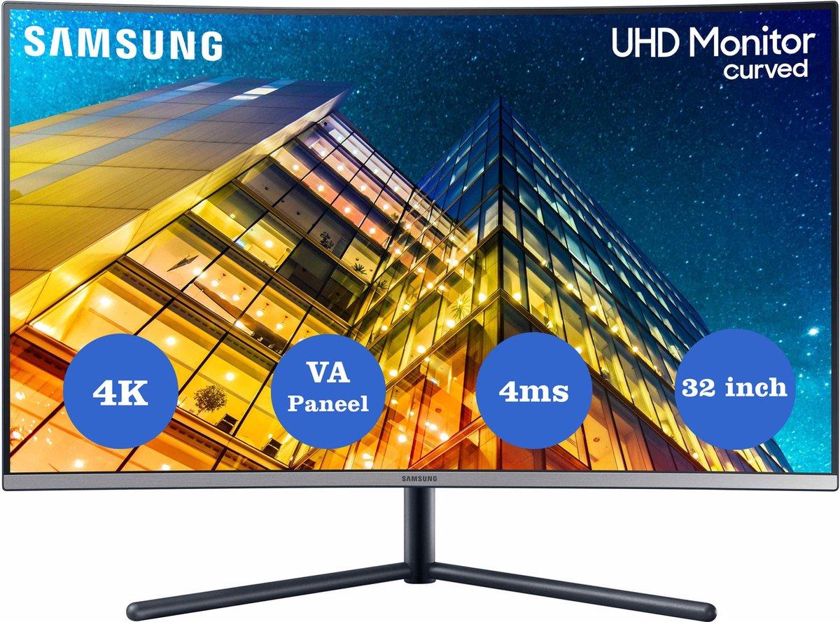 Samsung LU32R590CWUXEN – 4K Curved Design monitor