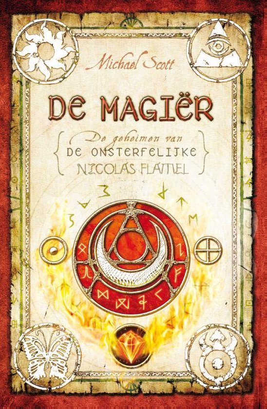 Nicolas Flamel - De magier - Michael Scott  